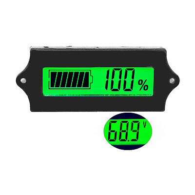 LCD Acid Lead 12V Lithium Battery Capacity Indicator Digital Voltmeter Tester