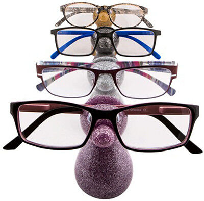 New Glitter Snoozle Snozzle Glasses Stand Holder For Specs Gift Present Boxed