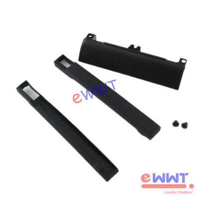 for Dell Latitude E6430 E6530 HDD Hard Drive Cover+Isolation Rubber Rail ZVOT598