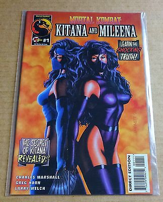 "Malibu Comics ""mortal Combat / Kitana & Mileena"" #1 New/unread High Grade Nm"