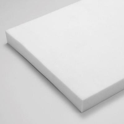 "50 Density | Premium White Memory Foam | Upholstery Seat Pads Cushion | 2"" Thick"