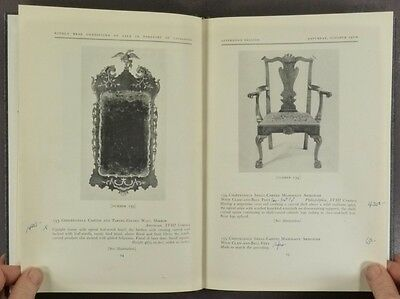Antique American Furniture & Antiques - C. Hallam Keep Collection 1963 Auction