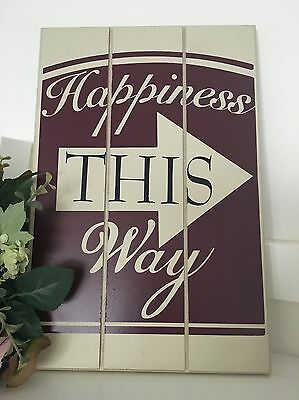 FRIEND Hanging Wooden MDF Shabby Chic Acrostic Poem Compliment Gift Sign 20x30cm Home, Furniture & DIY