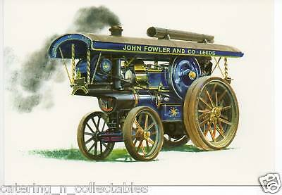 ge - Traction Engines Postcard set
