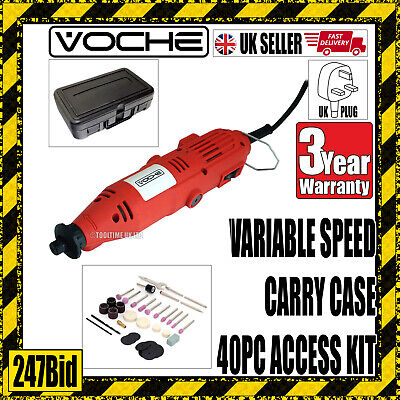 Voche® 135W Electric Mini Rotary Hobby Drill Combi Multi Grinder Engraving Tool