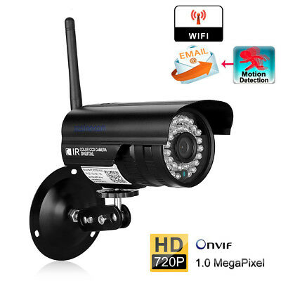 1080P HD Outdoor Wireless WiFi IP Network CCTV Security Camera IR Night Vision