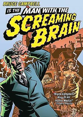 MAN WITH THE SCREAMING BRAIN (DVD, 2005) New / Factory Sealed / Free Shipping