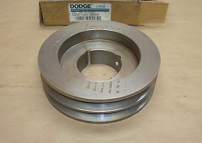 New Dodge 118222 2A5.2 B5.6 - 1610 Bushing 2 Groove pulley sheave