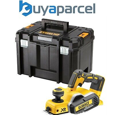 Dewalt DCP580N 18v XR Cordless Brushless Planer Bare + TSTAK Case + Inlay