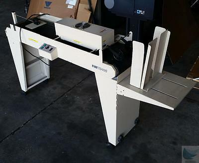 Rena Systems TB499 Envelope Conveyor Dryer Stacker with Stack Props - WORKING