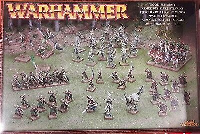 Warhammer Wood Elf Army - 67-38 - FACTORY SEALED Games Workshop OOP