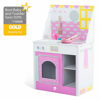 Plum® Cabin Wooden Play Kitchen Pink Lemonade