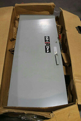 GE 600V 600 Amps Fusible Heavy Duty Safety Switch TH3366JR