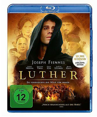 Luther (Joseph Fiennes) BLU-RAY IMPORT Brand New - USA Compatible