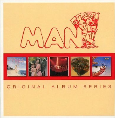 Man Original Album Series 5Cd Album Set (2014)