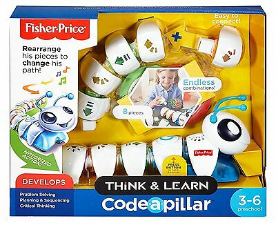 Fisher Price Think & Learn Code-A-Pillar Ages 3-6 w/ Motorized Action READ B073