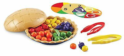 Learning Resources Super Sorting Pie Educational Counting Maths Toy New