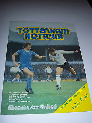 TOTTENHAM HOTSPUR v MANCHESTER UNITED 1979/80 - FA CUP 3RD ROUND - VOL72 #13