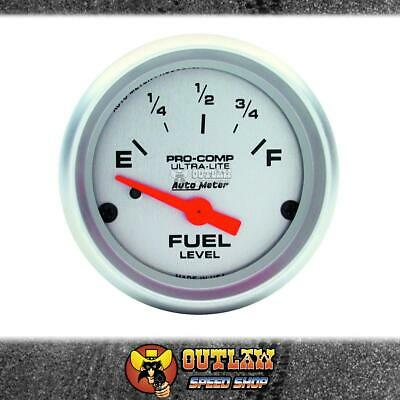 "Autometer Fuel Level Ultra-Lite 2.1/16"" Use With Au3262 Sender - Au4316"