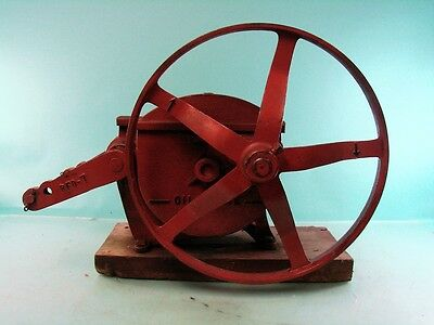 Antique Heller-Aller Co. Model 3 Windmill Water Pump Jack Industrial Age Farm