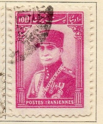 Middle East;  1935 Riza Pahlavi Issue Fine Used 10d. 140283