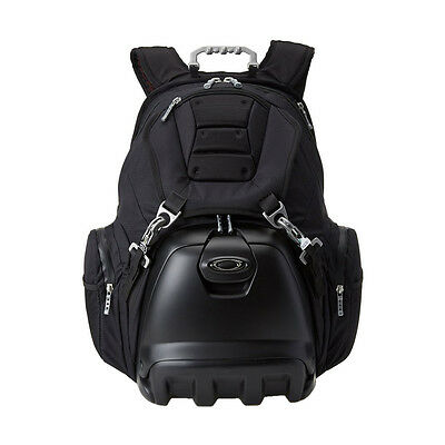 "Oakley 92605 ""Lunch Box"" Tactical Heavy Duty Backpack w/ Cold Storage - Black"