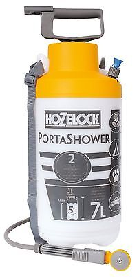 Hozelock 4 in 1 Porta Shower Portable Travel Camping Water Spray Shower New