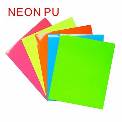 BETTA FILM T-SHIRT HEAT TRANSFER PU VINYL FILM - NEON Color for TEXTILE GRAPHICS