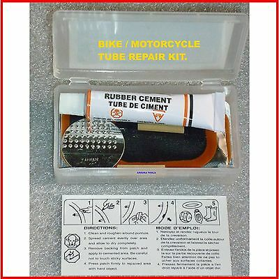 Bike, Motorcycle Tube Puncture Repair Kit - Brand New.