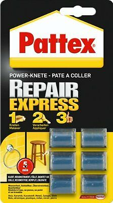 Pattex Riparatutto Express - Pasta Modellabile, 6 Pezzi X 5 G