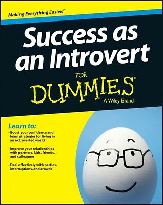 Success as an Introvert For Dummies (Paperback), Pastor, Joan, 9781118738375