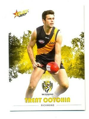 2017 AFL Select Footy Stars common card 163 Trent Cotchin - Richmond