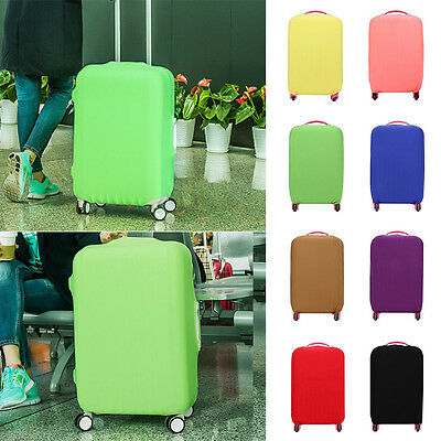"""2017 Protective Bag Dustproof Protector Elastic Luggage Suitcase Cover 20""""24""""28"""""""