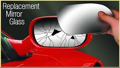 Summit Asrg-1058 Replacement Right Driver Side Door Wing Mirror Glass Blind Spot