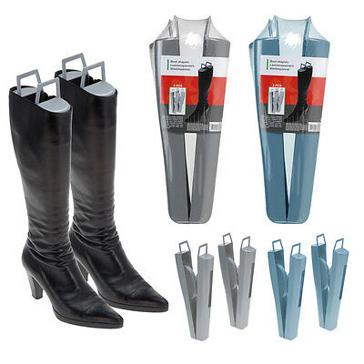 Ladies Boot Shapers Automatic High Long Stand Holder Shoe Thigh Stretcher Handle
