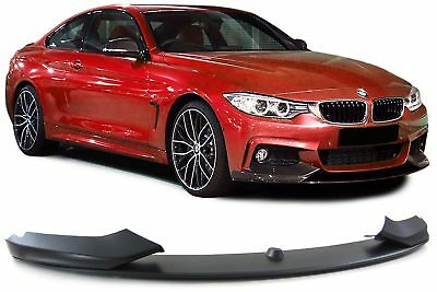 FRONT SPOILER LIPPE STOßSTANGE PERFORMANCE LOOK FÜR BMW 4ER F32 Coupe ab 13