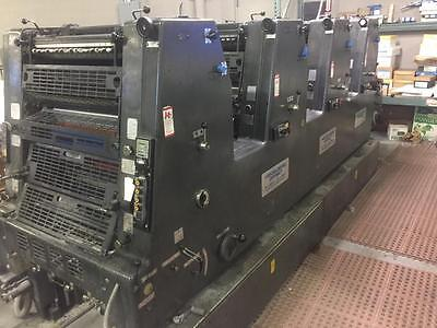 Heidelberg Gtovp 52, Year: 1982, Four Color, Kompac Automatic Dampening