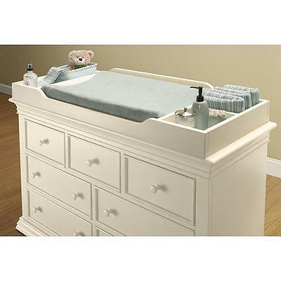 Sorelle Verona Changing Topper - French White