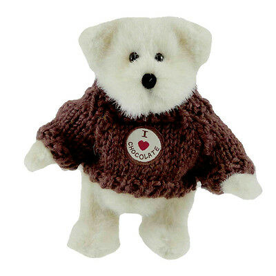 Boyds Bears Plush 2005 Cocoa B. Sweetbeary - I Love Chocolate - FOB - #02005-31