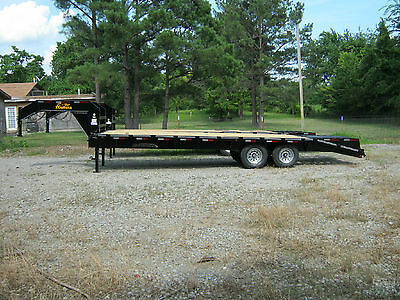 2017 New  20' Plus 5' Gooseneck Equipment Trailer