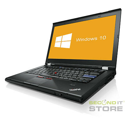 Lenovo ThinkPad T420 Notebook Intel Core i5 2x 2,5GHz 4GB RAM 320 GB HDD Win10