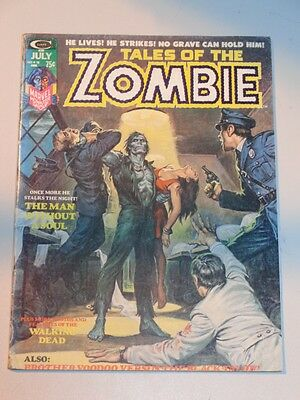 Tales Of The Zombie #6 July 1974 Curtis Horror Us Magazine Brother Voodoo<