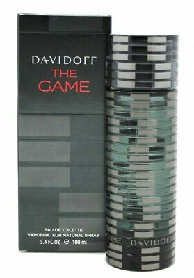 Davidoff The Game Eau De Toilette Edt 100Ml Spray - Men's For Him. New