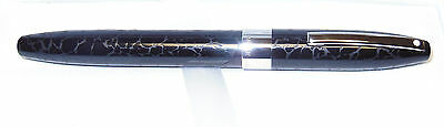 SHEAFFER Legacy Heritage Rollerball Pen - Black Leather - New Old Stock - USA