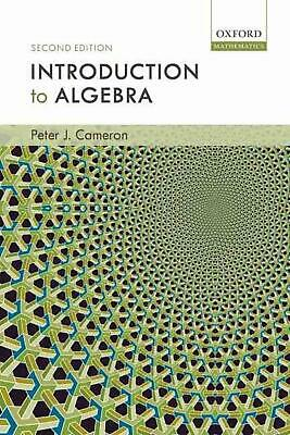 Introduction to Algebra by Peter J. Cameron (English) Hardcover Book Free Shippi