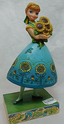 Disney Enesco Figurine Traditions Jim shore 4050882 Anna Spring in Bloom