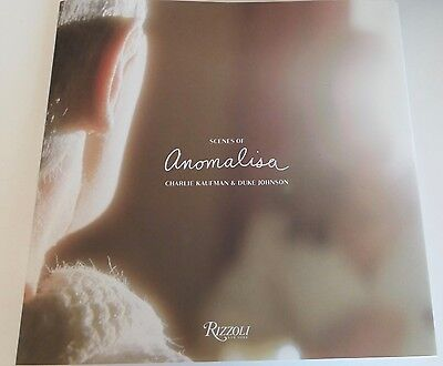 HAND SIGNED Scenes of Anomalisa by Charlie Kaufman and Duke Johnson Book AUTOGRA