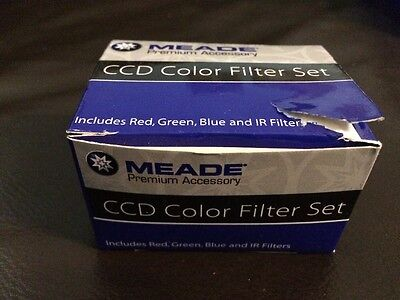 Meade CCD Color Filter Set, Red Green Blue & IR