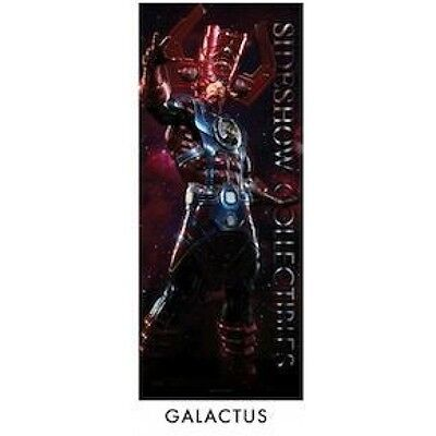 "Rare Sideshow Marvel Galactus Retailer Promo tapestry banner- Large 72"" tall"