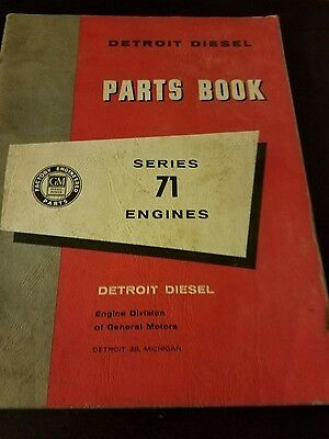 Detroit diesel parts book series 71 engines